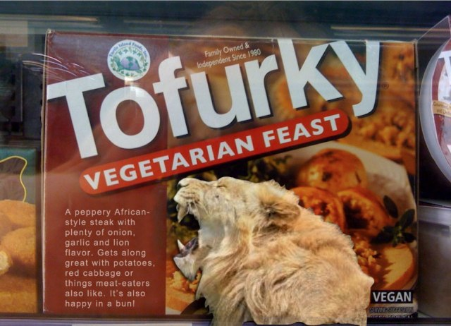 Tofurky Releases Trophy-Hunt Lion Steak, More Options