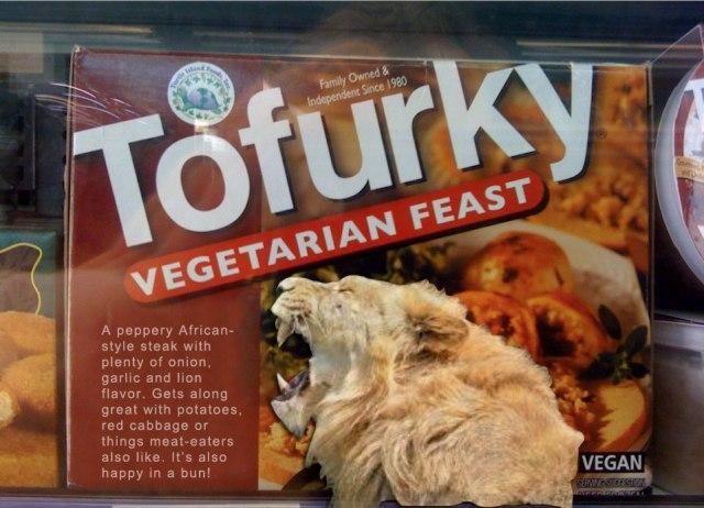 Tofurky Releases Trophy-Hunt Lion Steak, More Options