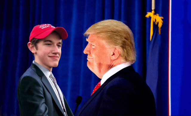 President Trump Has Invited Nick Sandmann to Stand Six Inches From His Face at the State of The Union Address