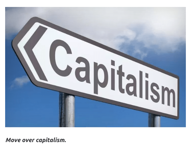 Trump Ends Capitalism in The United States