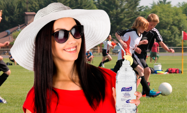 Soccer Moms Are Drinking Purell to Take the Edge Off This Summer
