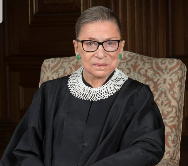 Ruth Bader Ginsburg vows to beat every disease known to man by 2040
