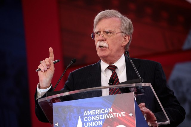 John Bolton's mustache forced to resign as National Security Advisor