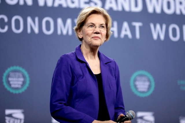 """I'm Elizabeth Warren and I let a Marine go down on me… for America"" new political ad states"