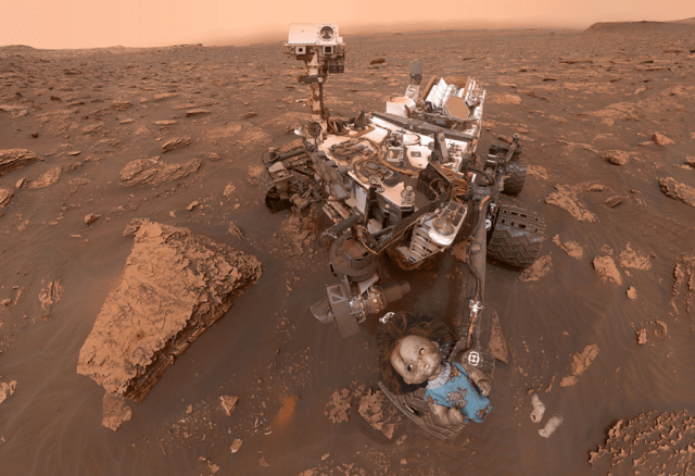 NASA's Curiosity rover finds creepy doll in Mars' Gale Crater