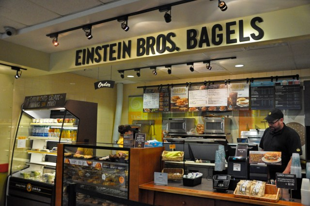 Discrimination: Einstein Bagels only hires males with small penises to make center holes in bagels