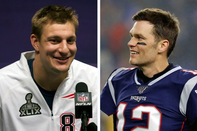 'I Can't Quit You!' Gronkowski Tells Brady During NFL Comeback Announcement