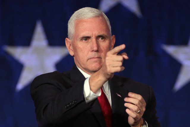 Pence Reassures: 'More Students Will Die From School Shootings Than COVID'