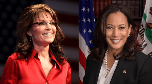 Sarah Palin Advises Kamala Harris Against Being a 'Total Fucking Moron,' Says 'That Was My Biggest Mistake'
