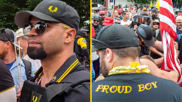 Proud Boys Somehow Shocked Their Afro-Cuban Leader Named 'Enrique Tarrio' Is Likely To Be FBI Informant