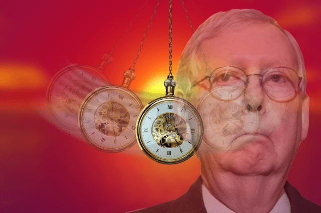 'Saying No To The Commission Doesn't Mean You're Guilty' McConnell Chants At Hypnotized Republicans