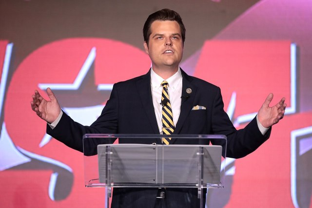 matt gaetz ticketed for driving too slowly in school zone