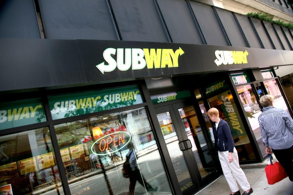 subway tuna is people