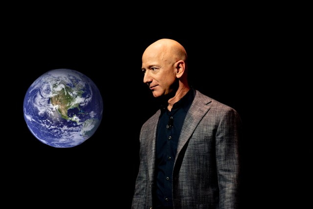 Jeff Bezos Going To Space 'To Get A Better Look At Earth' Before Potentially Buying It