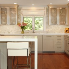 Onyx Kitchen Backsplash Metal Trash Can Modern Family Room And You 39re Home Custom Interiors