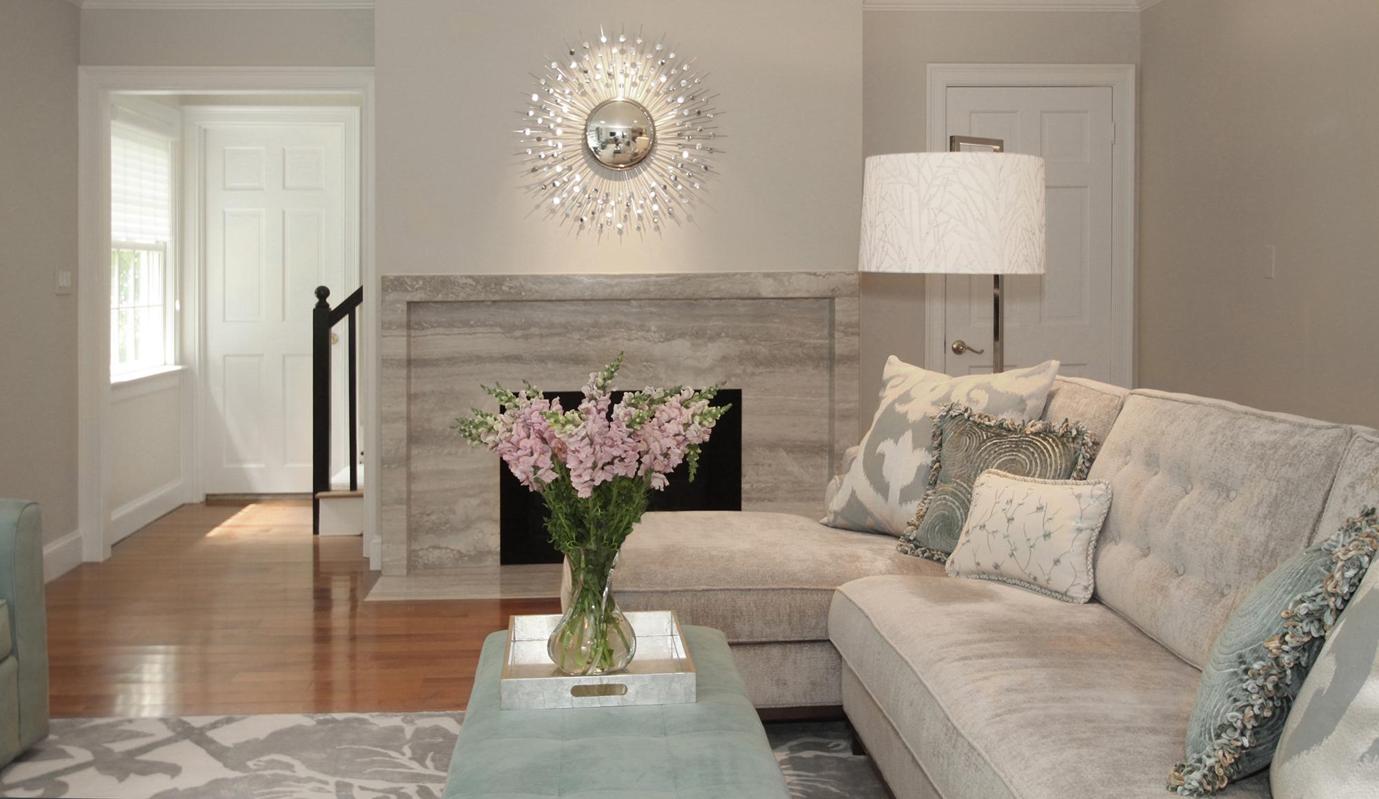 Modern Family Room  Kitchen  Youre Home Custom Interiors