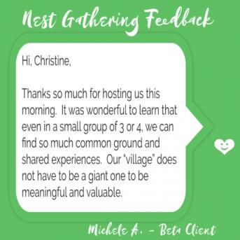 Hi Christine, Thanks so much for hosting us this morning...