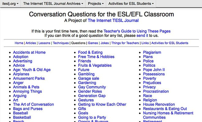 useful esl websites 3 - itesljorg