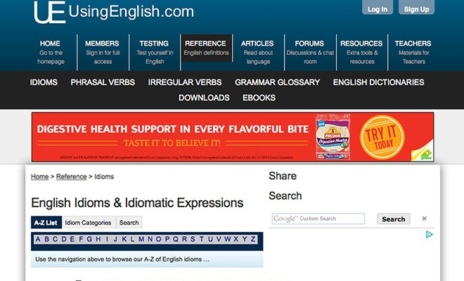 usefule esl websites 6 - usingenglish