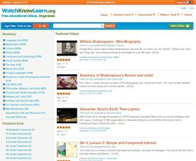 Watchlearnknow has many English video lesson plans