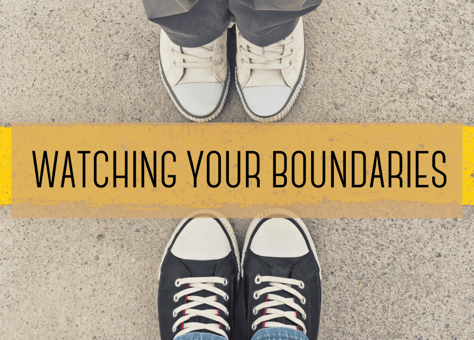 Watching your boundaries: the no cat food rule