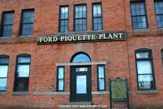 Ford Piquette wedding venue