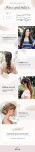 wavy bridal hair