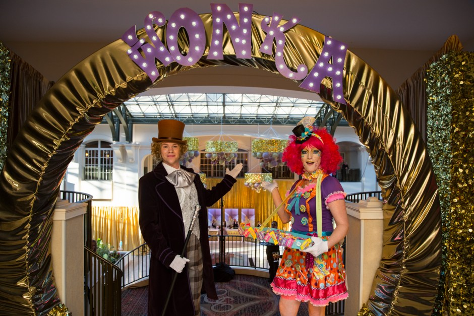 Your Event Solution Willy Wonka Entrance