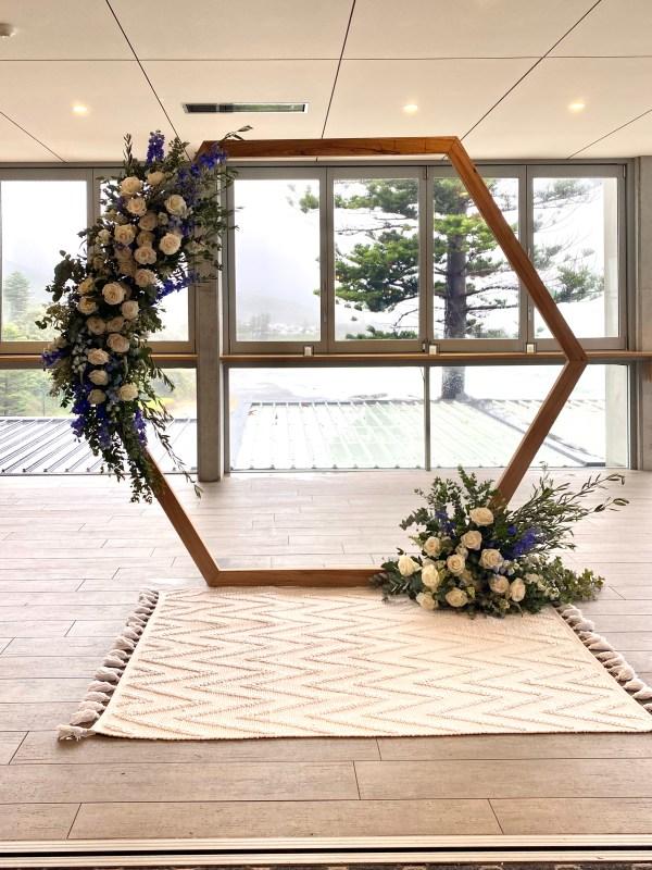 Hexagon Arbour