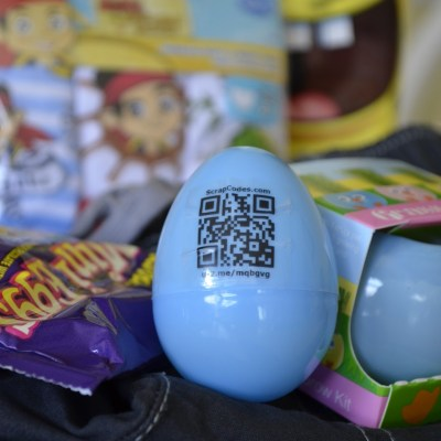 QR Code Easter Egg Hunt