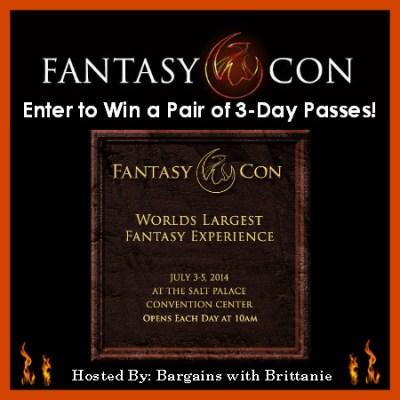 Nerd Alert & FantasyCon Giveaway!!