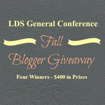 LDS General Conference Giveaway!