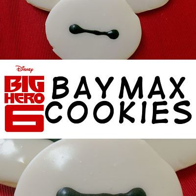 Big Hero 6 Baymax Cookies