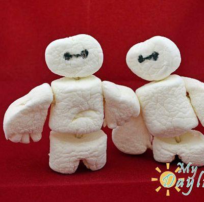 Big Hero 6 Baymax Marshmellows