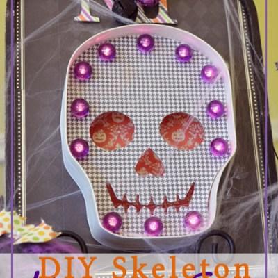 DIY Skeleton Marquee Sign