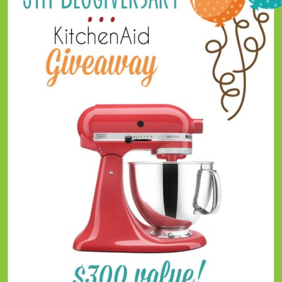 Kitchenaid Giveaway with The Cupcake Diaries!