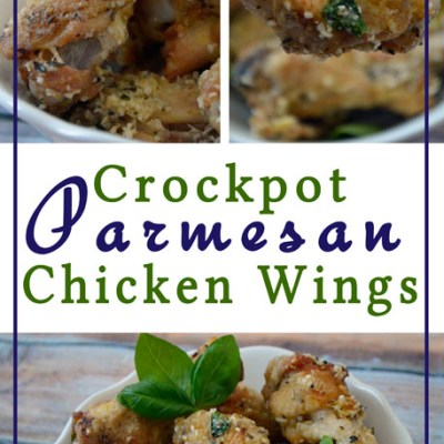 Crockpot Parmesan Chicken Wings