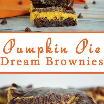 Pumpkin Pie Dream Brownies