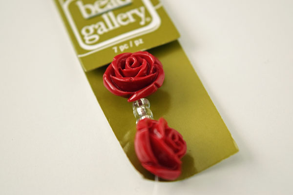 Beauty and the Beast DIY Enchanted Rose Necklace