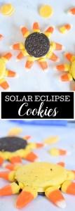Solar Eclipse 2017 Cookies