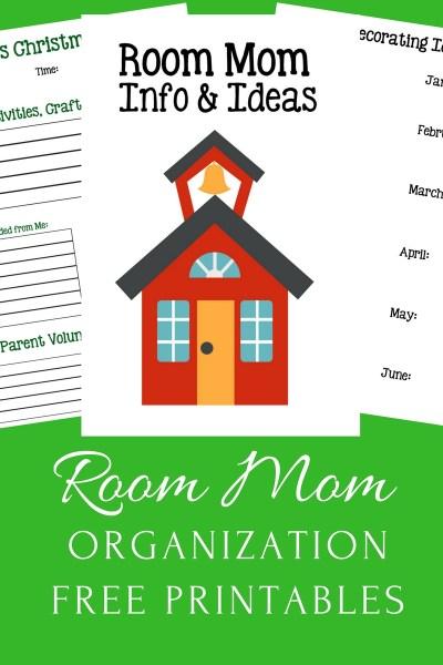 Room Mom Organizing Printables