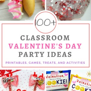 School And Classroom Valentine's Day Party Ideas