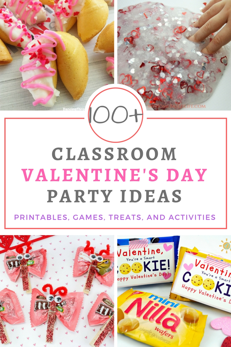 School And Classroom Valentine S Day Party Ideas Your Everyday Family