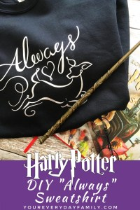Harry Potter Always DIY Shirt