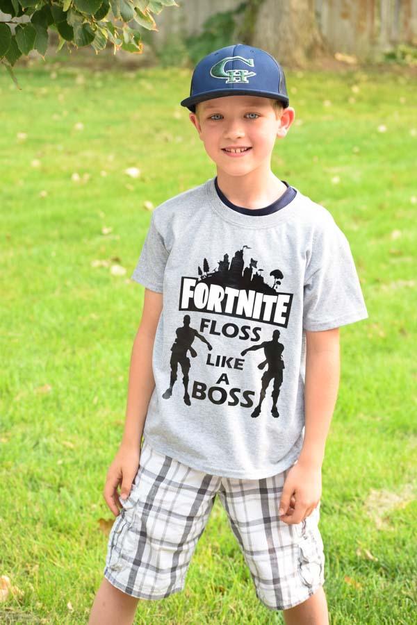 Fortnite Floss Like A Boss Diy T Shirt For Kids And Adults