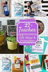 Meaningful Teacher Appreciation Ideas & Printables