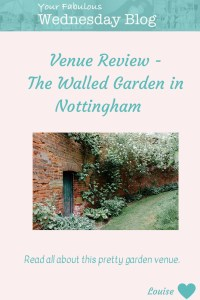 Venue Review - The Walled Garden at Beeston Fields - Your ...