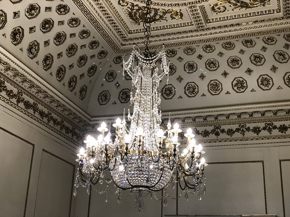 Amazing Chandelier at Wentworth Woodhouse