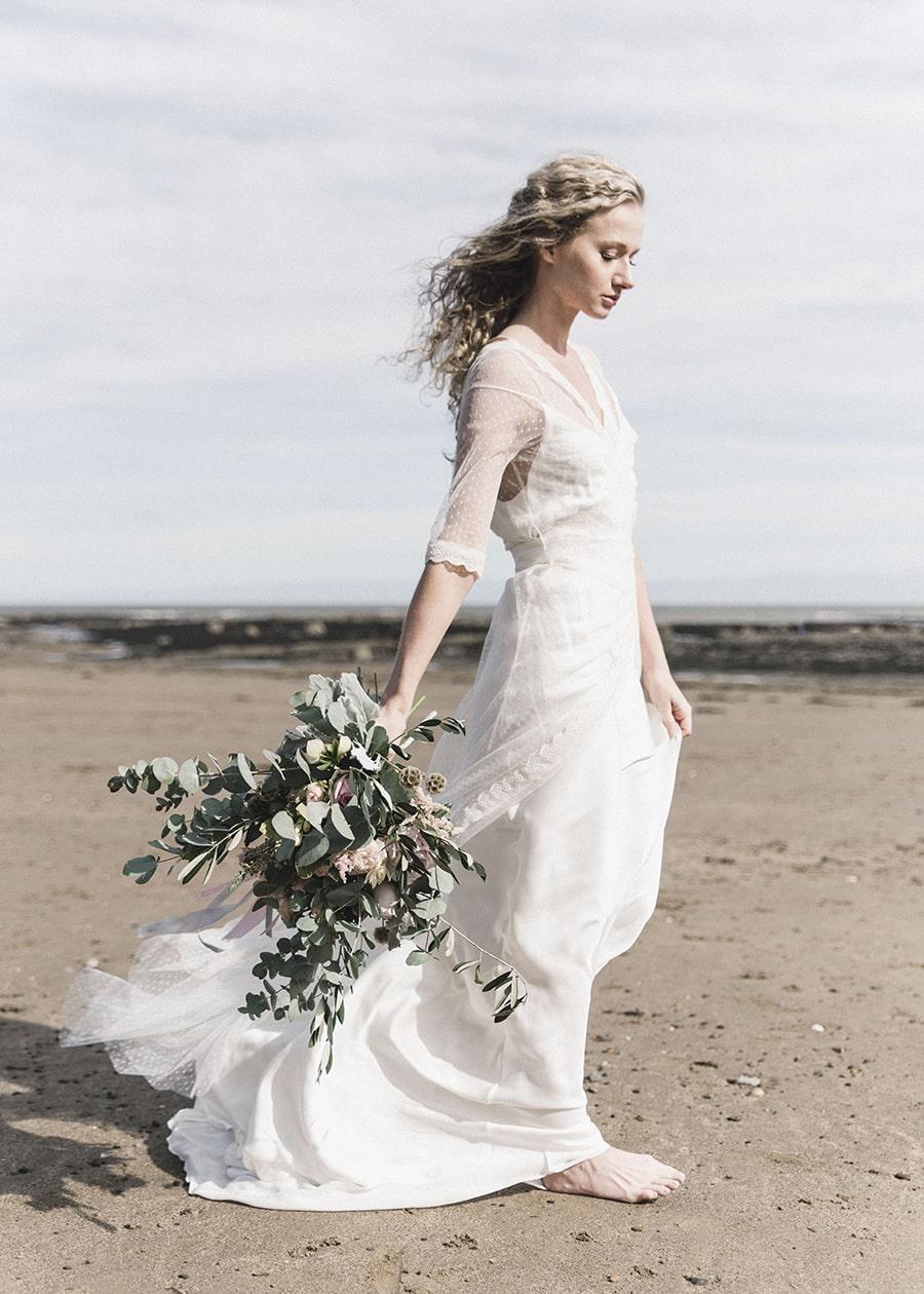 Boho Beach Wedding Bouquet