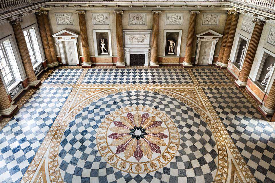 The Marble Saloon at Wentworth Woodhouse